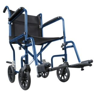 Hugo Portable TranSport Chair with Detachable Footrests, Midnight Blue