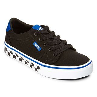 Vans Bishop Boys Skate Shoes, Blue/Black, Boys