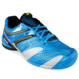 Babolat Men`s V Pro 2 All Court Tennis Shoes Blue/Yellow 10 Blue