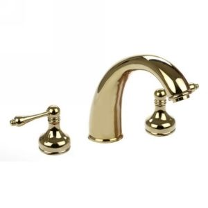 Dynasty Hardware DYN 2702 PB Vintage Roman Tub Faucet With Levers