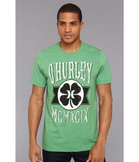 Hurley Green Leaf Premium Tee Mens T Shirt (Green)