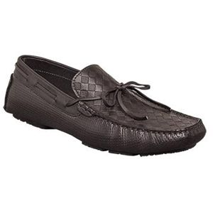 Bacco Bucci Mens Balotelli Black Shoes   2434 43 001