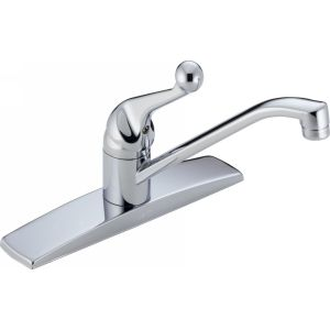 Delta Faucet 100LF WF Classic Classic Single Handle Kitchen Faucet