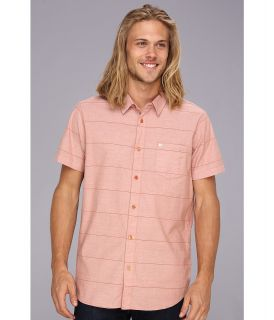 Rip Curl Tanner S/S Shirt Mens Short Sleeve Button Up (Orange)