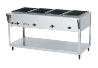 Vollrath 4 Well Hot Food Table   (4) Thermostat, Drain 120v