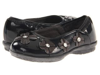 Hush Puppies Kids Sophian Girls Shoes (Black)