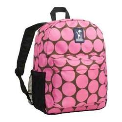 Girls Wildkin Tag along Backpack Big Dots Hot Pink