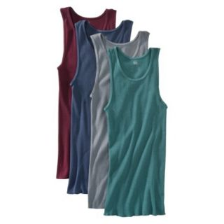 Fruit of the Loom Mens A Shirts 4 Pack   Assorted Colors XXL