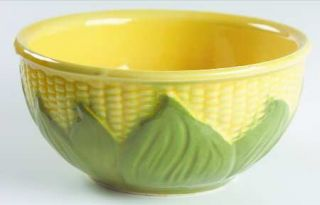 Shawnee Corn King 7 Mixing Bowl, Fine China Dinnerware   Lighter Shuck & Dark Y