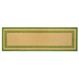 Ecoaccents Green Greek Key Rug Jtrg0 Rug Size Runner 26 x 8