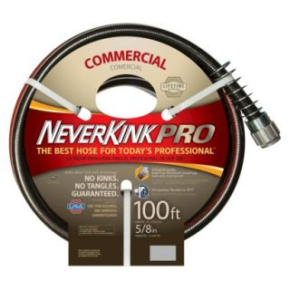 Apex Neverkink Pro Commercial Duty Garden Hose 5/8 x 100