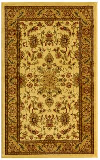 Lyndhurst Collection Ohsak Ivory/ Tan Rug (33 X 53) (IvoryPattern OrientalMeasures 0.375 inch thickTip We recommend the use of a non skid pad to keep the rug in place on smooth surfaces.All rug sizes are approximate. Due to the difference of monitor col