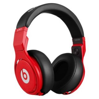 Beats by Dr.Dre Pro Lil Wayne On the Ear Headphones   Red/Black (BT OV PRO RBL)