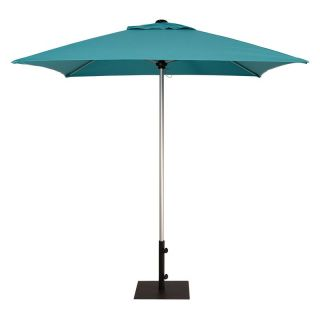 Treasure Garden 7 ft. Commercial Series Patio Umbrella Silver Shadow Anodized