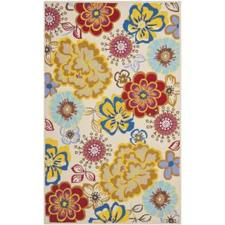 Safavieh Four Seasons Ivory / Multi Rug FRS467B Rug Size 26 x 4