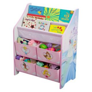 Kids Storage Unit Delta Childrens Products Book and Toy Organizer   Disney