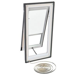 Velux RMH C04 1028 Skylight Blind, Electric Powered Light Filtering for Velux VSE C04 Models White