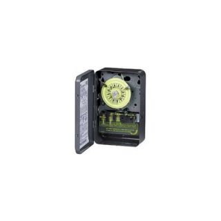 Intermatic T101 Timer, 120V SPST 24Hour Mechanical Time Switch