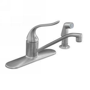 Kohler K 15172 F G Coralais Single Handle Kitchen Faucet with Sidespray