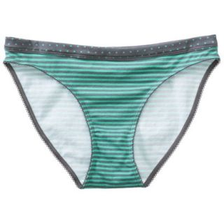 Xhilaration Juniors Cotton Bikini   Green Heather S