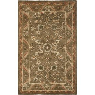 Safavieh Antiquities Majesty Sage/Gold Rug AT52A Rug Size 3 x 5