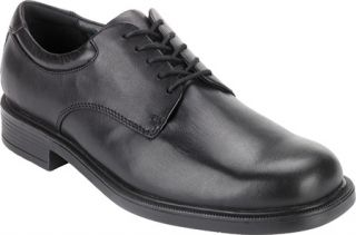 Mens Rockport Margin   Black Oxfords