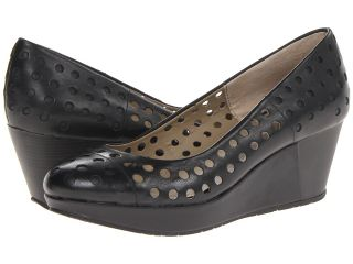 Kenneth Cole Reaction Sippin Soda Womens Wedge Shoes (Black)