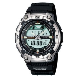 Casio Mens Active Dial Multi Task Gear Sport Watch   Black