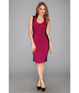 Kenneth Cole New York Helice Dress Womens Dress (Red)