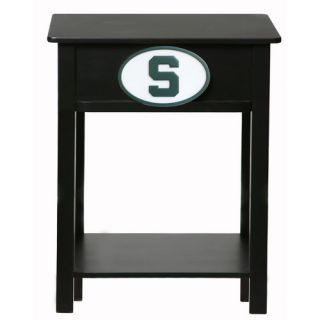 Fan Creations NCAA End Table C0533  NCAA Team Michigan State