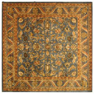 Safavieh Antiquities Majesty Blue/Gold Rug AT52C Rug Size Square 8