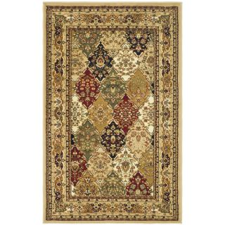 Safavieh Lyndhurst Multi colored/ Black Rug (23 X 4)