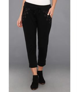 Lucky Brand Embroidered Pant Womens Casual Pants (Multi)