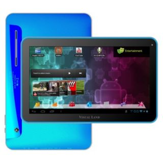 Visual Land Prestige 10 Android Tablet (ME 110 16GB BLU) with 16GB Internal