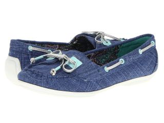Kenneth Cole Reaction Let Go Womens Slip on Shoes (Blue)