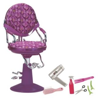 Our Generation Salon Chair (Purple)