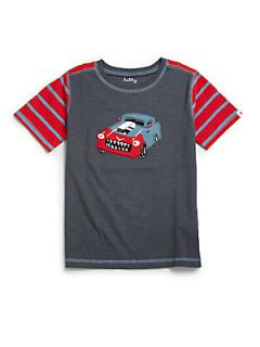 Hatley Toddlers & Little Boys Hot Rod Tee   Grey