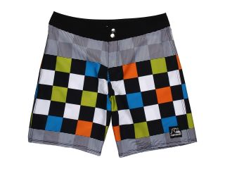 Quiksilver Kids Flash Back Boardshort Boys Swimwear (Green)