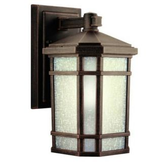 Kichler 9718PR Outdoor Light, Arts and Crafts/Mission Wall Mount 1 Light Fixture Prairie Rock
