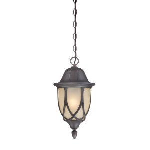 Thomas Lighting THO 190081763 Wiltshire Lantern Pendant Painted Bronze