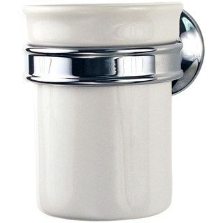 Hansgrohe Axor Montreux Wall mount Ceramic Tumbler/ Chrome Holder Set