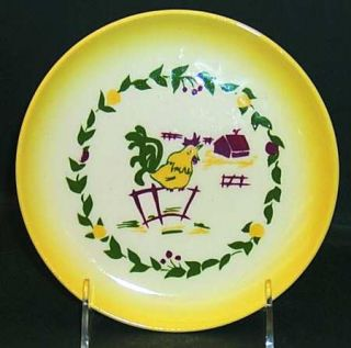 Brock California Farmhouse Yellow Bread & Butter Plate, Fine China Dinnerware