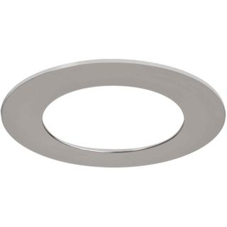 Halo TRM490PC LED Downlight Trim Accessory, 6 Trim Ring Replacement Poliched Chrome