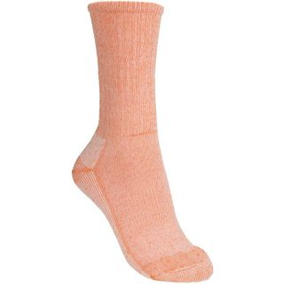 SmartWool Hiking Socks   Lightweight  Merino Wool  Crew (For Women)   ORANGE (M )