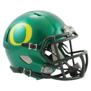 Riddell NCAA Oregon Speed Mini Helmet   Green