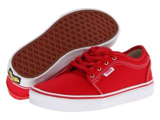 Vans Kids Chukka Low Boys Shoes (Red)
