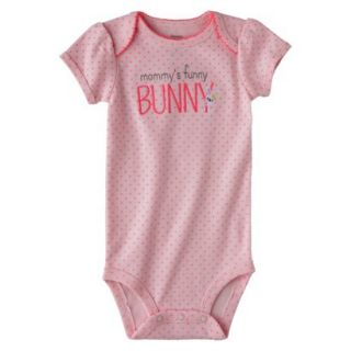 Just One YouMade by Carters Newborn Girls Buddy Bodysuit   Pink 3 M