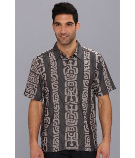 Quiksilver Waterman Barbers Point S/S Shirt Mens Clothing (Black)