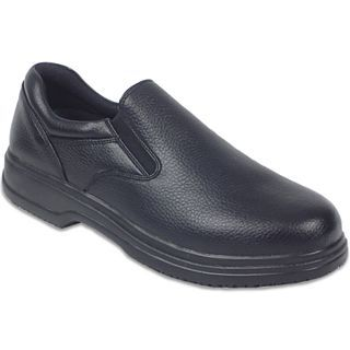 Deer Stags Manager Mens Slip On Shoes, Black