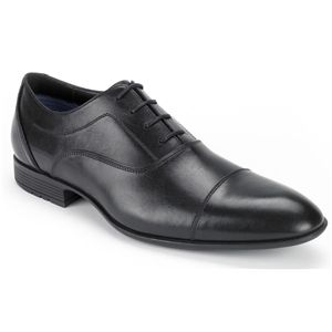 Rockport Mens Dialed In Cap Toe Black Shoes   K74543